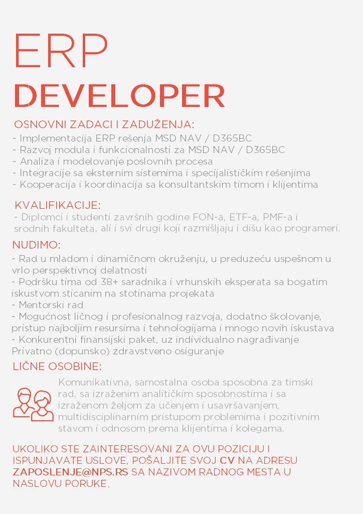 ERP developer ll